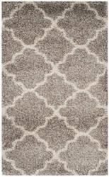 Safavieh Hudson Shag Sgh282b Grey - Ivory Area Rug