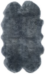 Safavieh Sheepskin Shag Shs121b Steel Blue Area Rug
