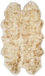 Safavieh Sheepskin Shag Shs121d Off White - Coco Brown Area Rug