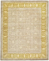 Safavieh Silk Road Skr214a Beige / Light Gold Area Rug