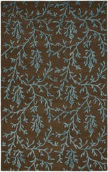 Safavieh Soho Soh214b Brown / Light Blue Area Rug