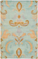 Safavieh Soho Soh215a Light Blue / Multi Area Rug