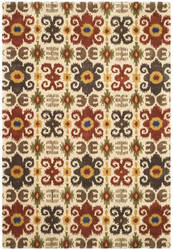 Safavieh Soho Soh445a Ivory / Red Area Rug