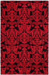 Safavieh Soho Soh452a Black / Red Area Rug