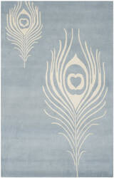 Safavieh Soho Soh704b Light Blue / Ivory Area Rug