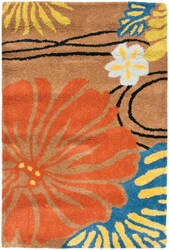 Safavieh Soho Soh738a Brown / Multi Area Rug