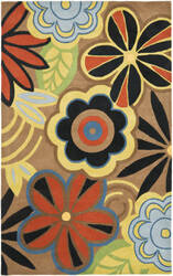 Safavieh Soho Soh743b Brown / Multi Area Rug
