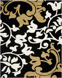 Safavieh Soho SOH760C Black / Multi Area Rug