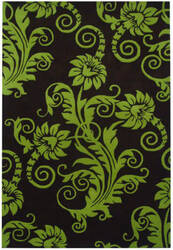 Safavieh Soho Soh765d Brown / Green Area Rug