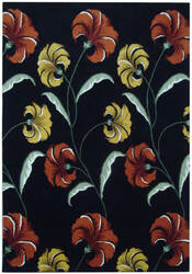Safavieh Soho Soh767c Black / Multi Area Rug