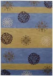 Safavieh Soho Soh777b Gold / Blue Area Rug