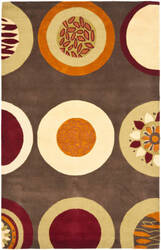 Safavieh Soho Soh835a Brown / Multi Area Rug