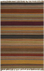 Safavieh Striped Kilim STK315A Gold Area Rug