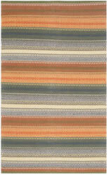 Safavieh Striped Kilim Stk412a Gold - Grey Area Rug