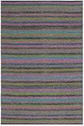 Safavieh Striped Kilim Stk421c Grey - Multi Area Rug