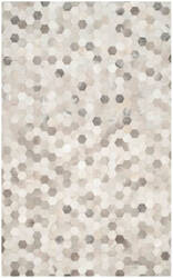 Safavieh Studio Leather Stl217a Ivory - Grey Area Rug