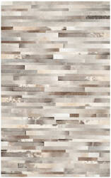 Safavieh Studio Leather Stl218a Grey - Ivory Area Rug