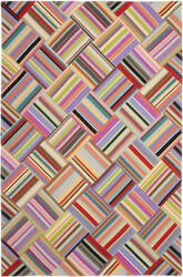 Safavieh Straw Patch Stp150a Pink - Multi Area Rug