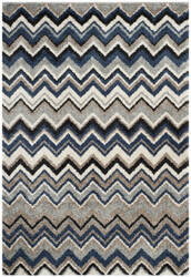 Safavieh Tahoe Tah477d Grey / Light Blue Area Rug
