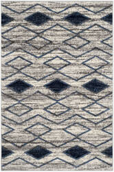 Safavieh Tunisia Tun299p Light Grey - Blue Area Rug