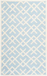 Safavieh Dhurries Dhu552b Light Blue / Ivory Area Rug