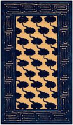 Safavieh Newport Npt428a Beige - Blue Area Rug