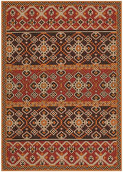 Safavieh Veranda VER093-0332 Red / Chocolate Area Rug