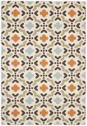 Safavieh Veranda Ver080-712 Cream / Terracotta Area Rug
