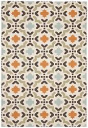 Safavieh Veranda Ver080 Cream - Terracotta Area Rug