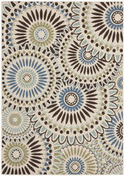 Safavieh Veranda Ver091-612 Cream / Blue Area Rug