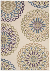 Safavieh Veranda Ver092 Cream - Green Area Rug