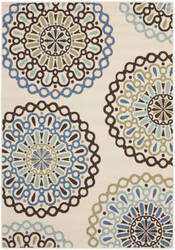 Safavieh Veranda Ver092 Cream - Blue Area Rug