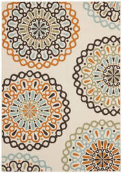 Safavieh Veranda Ver092 Cream - Terracotta Area Rug