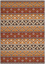 Safavieh Veranda Ver095 Red - Chocolate Area Rug