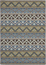 Safavieh Veranda Ver095-651 Blue / Creme Area Rug