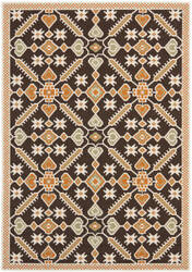Safavieh Veranda Ver098 Chocolate - Terracotta Area Rug