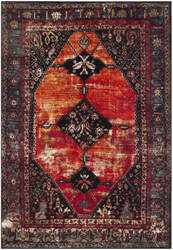 Safavieh Vintage Hamadan Vth217b Orange - Multi Area Rug