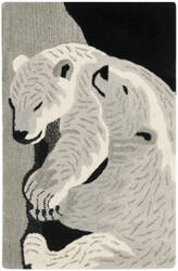 Safavieh Wilderness WLD208A Black / Grey Area Rug