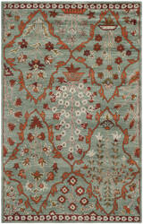 Safavieh Wyndham Wyd206a Blue / Rust Area Rug