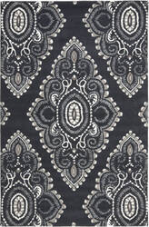 Safavieh Wyndham Wyd372c Dark Grey / Ivory Area Rug