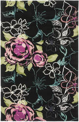 Safavieh Wyndham Wyd378c Black / Multi Area Rug