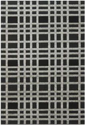 Safavieh York Yrk1200 Charcoal - Black Area Rug