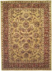 Safavieh Classic CL398A Gold / Red Area Rug