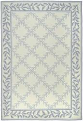 Safavieh DuraRug EZC430A Ivory / Light Blue Area Rug