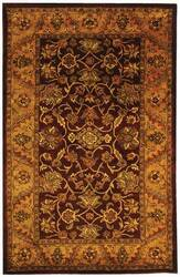 Safavieh Golden Jaipur GJ250C Burgundy / Gold Area Rug