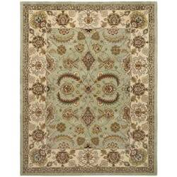 Safavieh Heritage HG453A Light Green / Ivory Area Rug