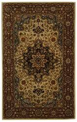 Safavieh Heritage HG760A Ivory / Red Area Rug