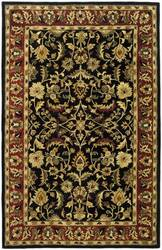 Rugstudio Sample Sale 49877R Black / Red Area Rug