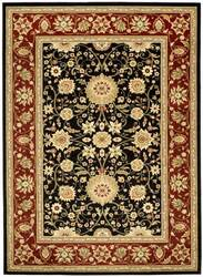 Safavieh Lyndhurst LNH212G Black / Red Area Rug