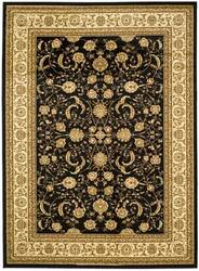Safavieh Lyndhurst LNH219A Black / Ivory Area Rug